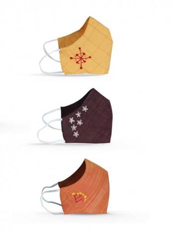Face Mask Set Of 3 - Style 1